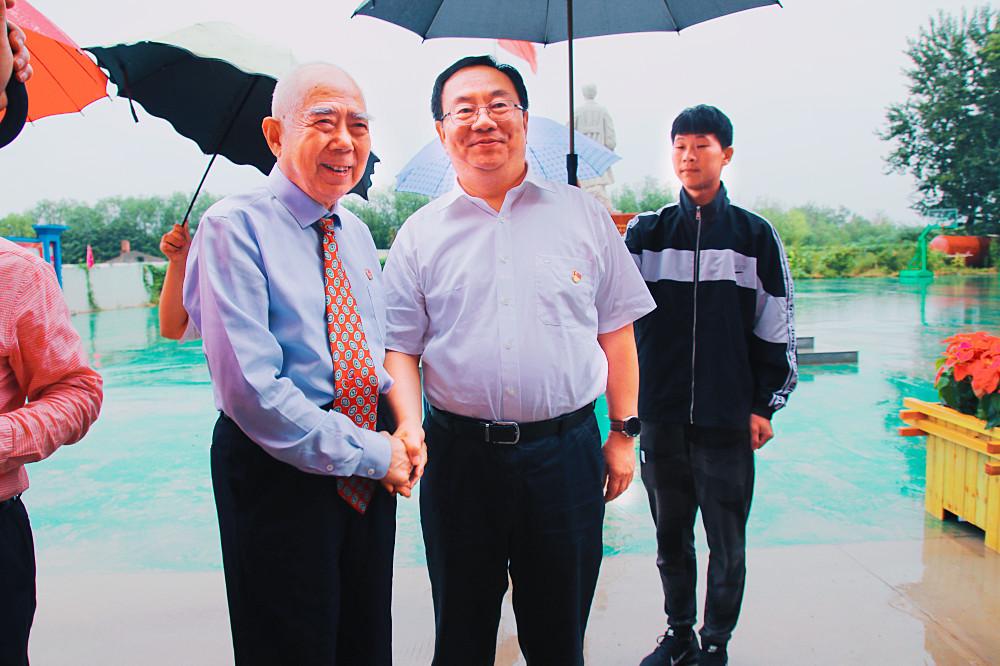 河北省民政厅副厅长、河北省民政厅社会组织党委书记陈建民率队来我校考察指导党建工作